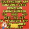 Club Factory Customer Care Complaint Helpline Number- +7368955410/ +9337710197