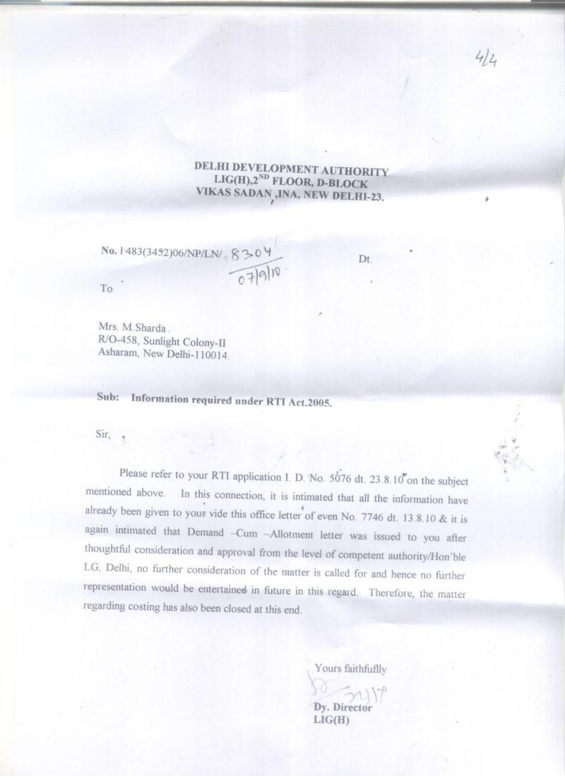 DDA HARASSMENT Delhi Development Authority IComplaintsin