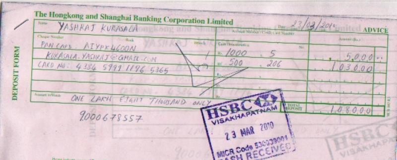 Hsbc credit card full and final settlement hsbc india icomplaints hi reheart Images